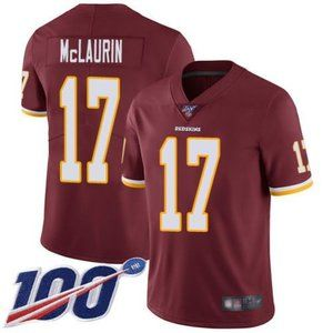 Redskins Terry McLaurin 100th Season Jersey